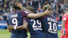 Paris St Germain hit Bordeaux for six to cement top spot #News #composite #Football #Ligue1 #Neymar