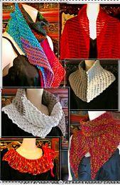 Ravelry: Tunisian Shakti Scarfythings pattern by Vashti Braha
