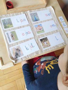 Moje Montessori Układanka literki