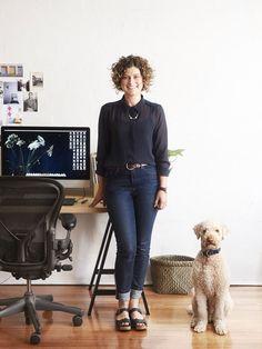 Environmental portrait - Eve Wilson, The Design Files