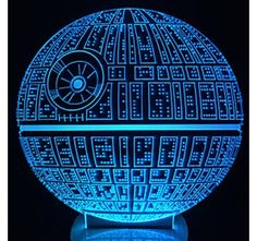 bf941199b14d The Force Awakens ! Multi-colored Death Star Table Lamp Death Star Bulbing  Light for Star Wars Fans Death Star Table Lamp