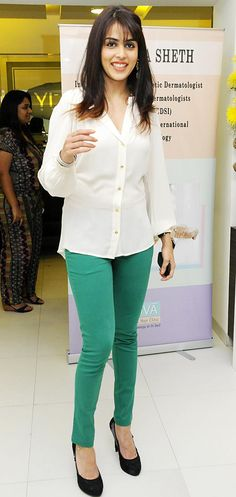 Genelia Deshmukh at an award function for doctors #Bollywood #Fashion