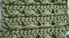 double crochet with a twist - YouTube - Tanis Galik