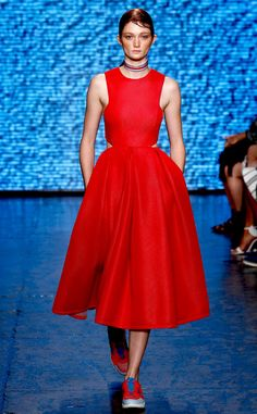 DKNY from 100 Best Fashion Week Looks from All the Spring 2015 Collections | E! Online