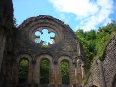 Abbaye d'Orval, Luxembourg, Belgique  #abandoned #romanesque #gothic #architecture