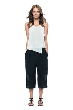 Who Knew Workwear Could Be So Cool? #refinery29  http://www.refinery29.com/summer-work-outfits#slide9  Are they bermuda shorts or are they pants? The simple answer: neither. The culotte has taken on a life of its own this summer. Expect to see more than a few workers adopting the cropped style as temperatures sky-rocket come July and August.