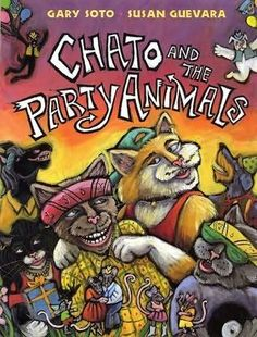 2002 Illustrator Winner- CHATO AND THE PARTY ANIMALS (E So78ch)
