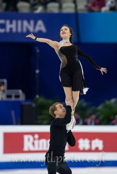 American ice dancers Madison Chock & Evan Bates: 2015 World Silver medalists