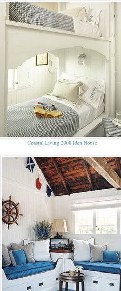 Prefer the bottom with the beds wrapping the corner.  Each child would have a window