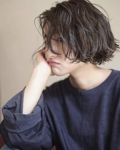 my new hair Curled Hairstyles, Hairstyles Haircuts, Pretty Hairstyles, Girl Short Hair, Short Hair Cuts, Shot Hair Styles, Long Hair Styles, Pelo Ulzzang, Inspo Cheveux
