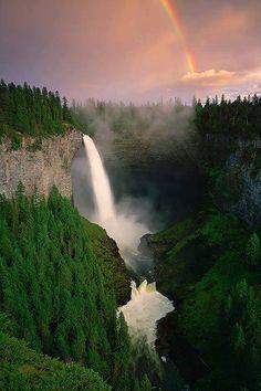 Helmken Falls, British Columbia, Canada