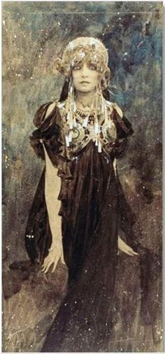 Alphonse Mucha - Sarah Bernhardt, 1923