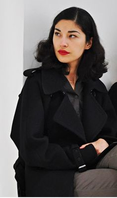 Caroline Issa - Half Lebanese, Half Chinese. Classic done well.