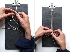 braided pacifier clip technique