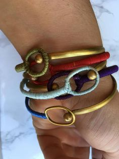 boho bangle ethical jewellery handmade in Italy Handmade Jewelry, Unique Jewelry, Handmade Gifts, Bangle Bracelets, Bangles, Jewelry Rings, Jewellery, Women Jewelry, Italy