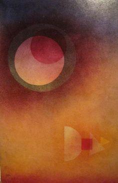 Wassily Kandinsky, ausweichend - evasivo (1929)