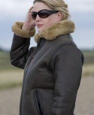 Irvin Sheepskin Flying Jackets