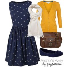 Change to design to polka-dots and I would wear this!