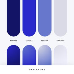 Let's create something beautiful ⠀ Tag your designer friends ♥️⠀ ➡️ Color Code Flat Color Palette, Blue Colour Palette, Blue Color Schemes, Ui Color, Gradient Color, Web Design, Logo Design, Web Colors, Designer Friends