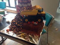 Tonka truck birthday cake