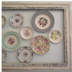 Display vintage plates