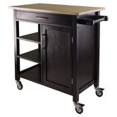 Found it at Wayfair - Mali Kitchen Cart I would change the casters but looks good to me