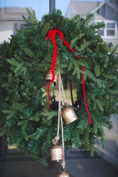 Christmas Decorations, Christmas Ornaments, Holiday Decor, Spruce Tree, Porch Decorating, Some Fun, Front Porch, Christmas Time, Holidays