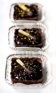Chocolate Earl Grey Tartlets