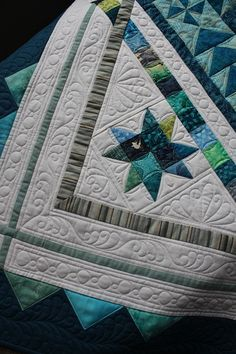 Beautiful quilting.  MQR resources