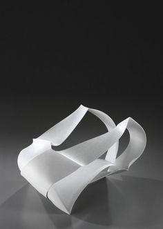 Available for sale from Yufuku Gallery, Shigekazu Nagae, Forms in Succession (2012), Slip-cast porcelain, glaze, 30 × 49.5 × 37 cm