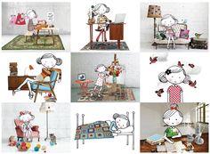 Illustrations Annelinde Tempelman } for Flow Magazine
