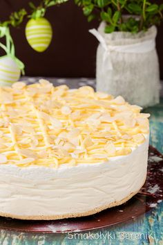 How Sweet Eats, Cheesecakes, Cake Cookies, Yummy Cakes, Vanilla Cake, Camembert Cheese, Cake Recipes, Food And Drink, Sweets