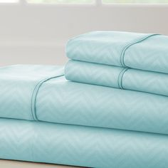 Found it at Wayfair - Becky Cameron Chevron Sheet Set