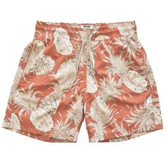 """""""Pineapple Punch"""" with vintage white pineapples, for men http://www.flooly.com/it/boxer-da-mare-uomo-love-brand-co/14013  and boys http://www.flooly.com/it/boxer-da-mare-bambino-love-brand-co/14029"""