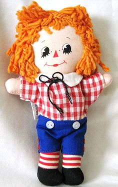 "6"" Raggedy Andy from Hallmark."