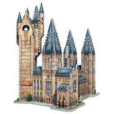 Wrebbit 3D - Harry Potter Hogwarts Astronomy Tower 875 Piece 3D Jigsaw Puzzle Harry Potter Welt, Harry Potter Shop, Harry Potter Movies, Harry Potter Hogwarts, 3d Puzzel, 3d Jigsaw Puzzles, Hogwarts Great Hall, Famous Buildings, Harry Potter Collection