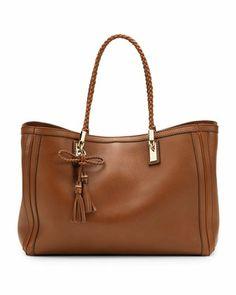Bella Medium Tote Bag, Cuir by Gucci at Neiman Marcus.