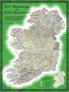 Irish Surname Map