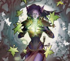 #wowtcg #warcraft #elfe #elf #druide #druid