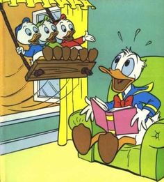 Donald Duck, Huey, Dewey and Louie