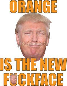 Bill Maher Trump T-shirt Orange Is The New Face