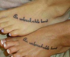 Sister's tattoos