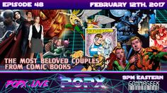 In honor of Valentine's Day, POPX uncovers some of our most beloved romances and couples from both DC and Marvel comics. Geek Culture, Pop Culture, Romances, Science Fiction, Marvel Comics, Nerdy, This Is Us, Geek Stuff, Comic Books