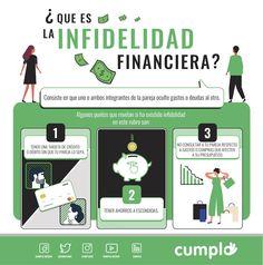 """La """"infidelidad financiera"""" consiste en que uno o ambos integrantes de la pareja oculte gastos o deudas al otro. Ecards, Memes, Blog, Shopping, Financial Statement, Couples, News, Blogging, E Cards"""