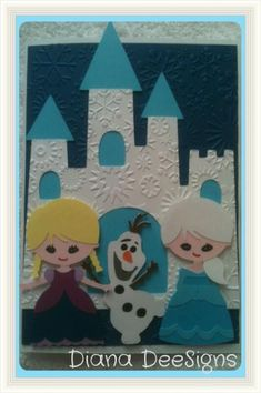 Frozen birthday card by DianaDee - Cards and Paper Crafts at Splitcoaststampers