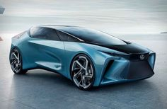 Lexus just dropped a doozie of a concept car that points to their future. and it's pure electric. The that just debuted at the Tokyo Motor Show uses four in-wheel motors that propel it to 60 mph in seconds. More importantly, the small motors allow for a Electric Car Concept, Electric Motor, Electric Cars, Electric Vehicle, Pop Top Camper, Audi, Toyota, Traction Avant, Automobile