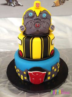 {Transformers Birthday} | CatchMyParty.com