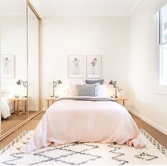 Bedroom styling by @thehiredhome