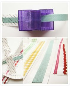 DIY Fabric Tape.