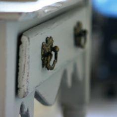 Hand Painted wash stand found in Wythenshawe market 1999